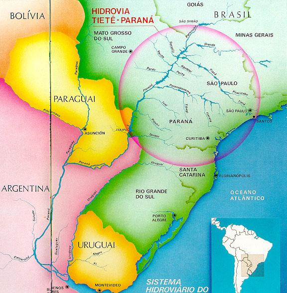 Carte Amerique Latine Avec Fleuves.Carte Amerique Latine Uruguay